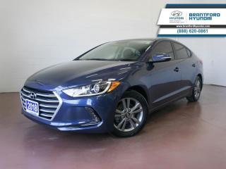 Used 2018 Hyundai Elantra LOW KM | 1 OWNER | APPLE CARPLAY | BACK UP CAM  - $98 B/W for sale in Brantford, ON