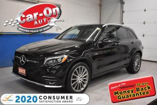 Used 2017 Mercedes-Benz AMG GLC 43 PREMIUM PKG 3 | BLACK ASHWOOD TRIM | SUEDE SEATS for sale in Ottawa, ON