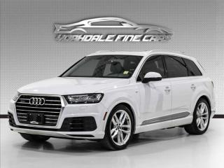 Used 2017 Audi Q7 3.0T Technik, S -Line Navigation, Extra Clean! for sale in Concord, ON