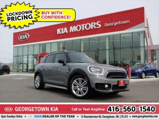 Used 2019 MINI Cooper Countryman Cooper S | CLN CRFX | B/U CAM | B/T | ROOF | 27K for sale in Georgetown, ON