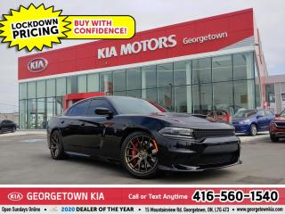 Used 2017 Dodge Charger SRT Hellcat | 707 HP | LTHR | NAV | ROOF | 16K| BT for sale in Georgetown, ON