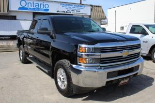 Used 2015 Chevrolet Silverado 2500 HD LT 4WD Crew Cab Bluetooth for sale in Mississauga, ON