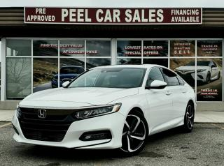 Used 2018 Honda Accord SPORT|CLEANCARFAX|PRICEMATCHPOLICY|PRECERTIFIED| for sale in Mississauga, ON