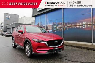 Used 2019 Mazda CX-5 GT w/Turbo - Fully loaded, beautiful in soul red! for sale in Vancouver, BC