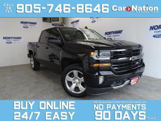 Used 2017 Chevrolet Silverado 1500 LT | Z71 PKG | 4X4 | CREW CAB | LEATHER | NAV for sale in Brantford, ON