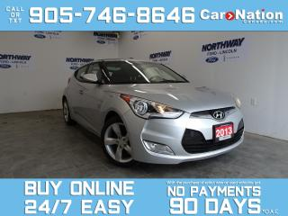Used 2013 Hyundai Veloster 6 SPEED M/T | 3DR COUPE | REAR CAM | TOUCHSCREEN for sale in Brantford, ON