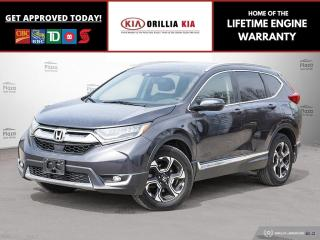 Used 2017 Honda CR-V Touring | OFF LEASE for sale in Orillia, ON