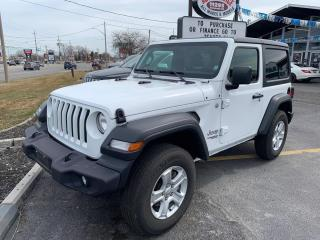 Used 2019 Jeep Wrangler Sport 4WD for sale in Windsor, ON