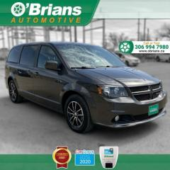 Used 2019 Dodge Grand Caravan GT - Accident Free! w/Mfg Warranty, Leather, Third-row, Backup C for sale in Saskatoon, SK