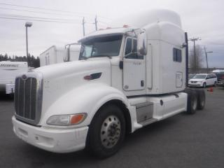 Used 2013 PETERBILT 386 Diesel Highway Tractor with Sleeper Cab and Air Brakes for sale in Burnaby, BC