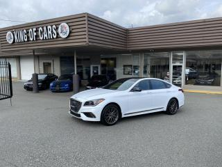 Used 2018 Genesis G80 3.3T Sport WITH AUTONOMOUS BRAKING for sale in Langley, BC