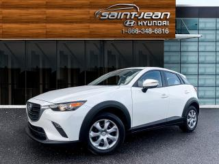 Used 2019 Mazda CX-3 GX / BLUETOOTH + A/C for sale in Saint-Jean-sur-Richelieu, QC