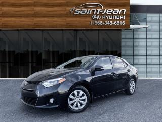 Used 2016 Toyota Corolla S / AUTO + TRÈS PROPRE for sale in Saint-Jean-sur-Richelieu, QC