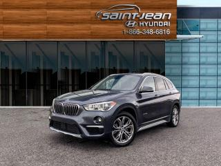 Used 2017 BMW X1 XDrive28i // TOIT PANO + CAM DE RECUL for sale in Saint-Jean-sur-Richelieu, QC