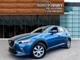 Used 2018 Mazda CX-3 GX // A/C + BLUETOOTH + REG DE VITESSE for sale in Saint-Jean-sur-Richelieu, QC