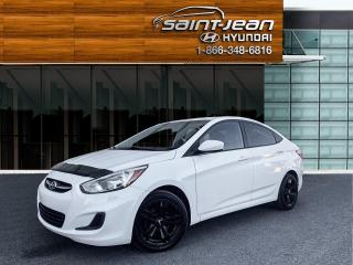 Used 2016 Hyundai Accent GL // MAGS + BLUETOOTH + REG DE VITESSE for sale in Saint-Jean-sur-Richelieu, QC