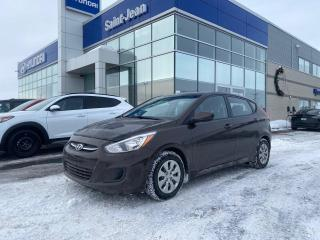Used 2016 Hyundai Accent GL // A/C + REG DE VITESSE for sale in Saint-Jean-sur-Richelieu, QC