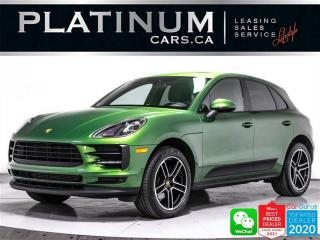 Used 2019 Porsche Macan AWD, PDK, NAV, PANO, BOSE, APPLE CARPLAY for sale in Toronto, ON