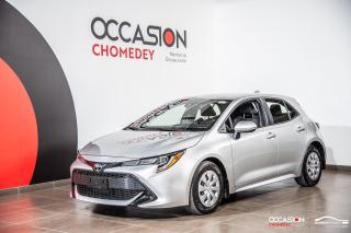 Used 2019 Toyota Corolla Hatchback CAMERA DE RECUL+REG DE VITESSE+BLUETHOOTH for sale in Laval, QC