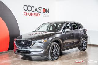 Used 2017 Mazda CX-5 GT AWD+TOIT+VOLANT/SIEGES CHAUFFANTS+CUIR for sale in Laval, QC