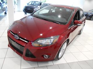 Used 2014 Ford Focus TITANIUM ** CUIR,TOIT,GPS,CAMERA,IMBATT for sale in Montréal, QC
