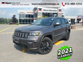 Used 2021 Jeep Grand Cherokee Altitude  - Navigation - $306 B/W for sale in Ottawa, ON