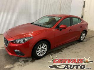 Used 2016 Mazda MAZDA3 GS Mags Caméra GPS A/C Bluetooth *Transmission Automatique* for sale in Trois-Rivières, QC