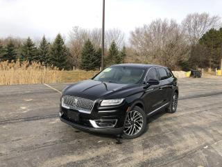 Used 2019 Lincoln Nautilus Reserve AWD for sale in Cayuga, ON