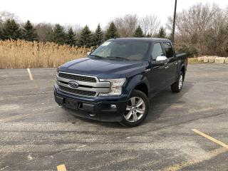 Used 2019 Ford F-150 Platinum Crew 4WD for sale in Cayuga, ON