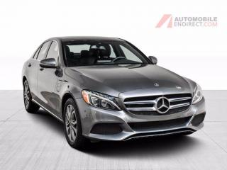 Used 2018 Mercedes-Benz C-Class C300 4Matic Camera 360 GPS toit pano for sale in St-Hubert, QC