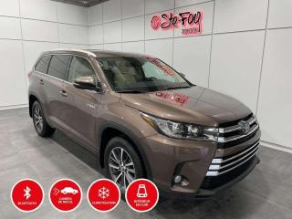 Used 2017 Toyota Highlander HYBRIDE - XLE - TOIT OUVRANT for sale in Québec, QC