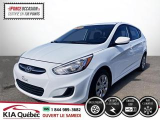 Used 2016 Hyundai Accent ** L/GL * AC * TRES PROPRE * USB  /AUX for sale in Québec, QC