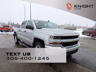 Used 2018 Chevrolet Silverado 1500 Custom | B/U Camera | Remote Start | Tow Pkg | Tonneau Cover for sale in Weyburn, SK