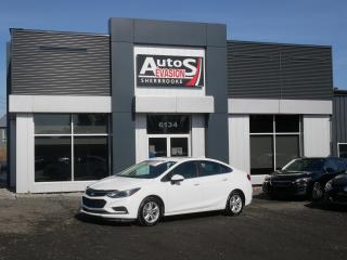 Used 2017 Chevrolet Cruze LT 1.4L TURBO + TOIT + INSPECTÉ for sale in Sherbrooke, QC