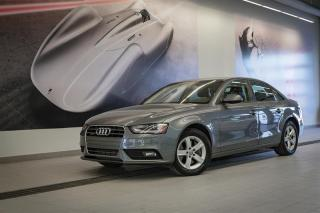 Used 2013 Audi A4 2.0 TFSI - QUATTRO AWD for sale in Sherbrooke, QC