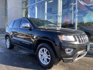Used 2014 Jeep Grand Cherokee LIMITED , 4X4 , CUIR , SIÈGE CHAUFFANT for sale in Ste-Agathe-des-Monts, QC
