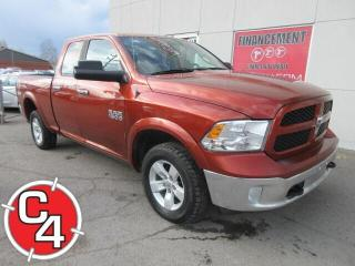Used 2013 RAM 1500 4WD Quad Cab 140.5  Outdoorsman for sale in St-Jérôme, QC
