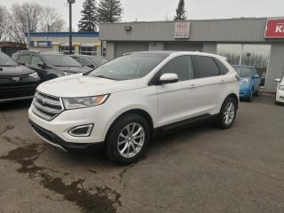 Used 2015 Ford Edge SEL AWD**NAV **TOIT PANO**CUIR CAMERA **HITCH for sale in Mcmasterville, QC