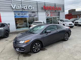 Used 2015 Honda Civic EX Véhicule économique !! Bonne condition!! for sale in Val-d'Or, QC