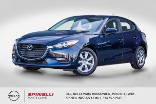 Used 2018 Mazda MAZDA3 Sport SPORT GX CAMERA DE RECUL / SKY ACTIVE / HATCHBACK / A/C / GROUPE ELECTRIQUE / BLUETOOTH for sale in Montréal, QC