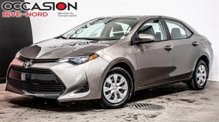 Used 2017 Toyota Corolla LE SIEGES.CHAUFFANTS+BLUETOOTH+CAM.RECUL for sale in Boisbriand, QC