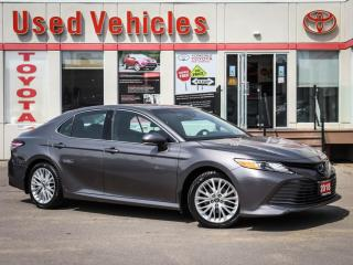 Used 2018 Toyota Camry HYBRID XLE ALLOYS SUNROOF LEATHER CAMERA NAVI 1-OWN for sale in North York, ON