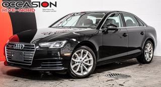 Used 2017 Audi A4 Progressiv NAVI+CUIR+TOIT.OUVRANT for sale in Boisbriand, QC