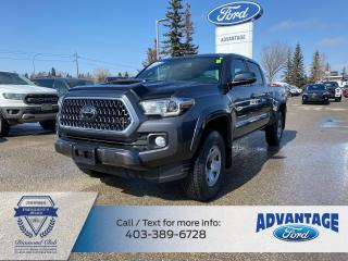 Used 2019 Toyota Tacoma SR5 V6 LOW KMS - ONE PREV OWNER - CLEAN CARFAX for sale in Calgary, AB
