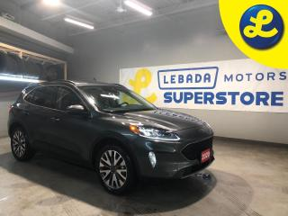 Used 2020 Ford Escape Hybrid Titanium AWD Hybrid * Navigation *  Heated Leather Seats * Remote Start * Apple Car Play/ Android Auto * Back Up Camera * Push Button Start * Steering for sale in Cambridge, ON