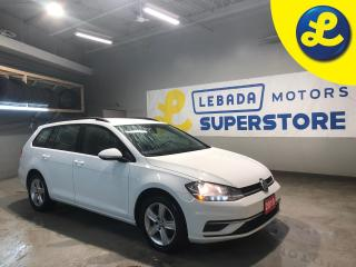 Used 2019 Volkswagen Golf Sportwagon 1.8T 4 Motion * Driver Assist * DSG Transmission * Back Up Camera * Apple Car Play * Android Auto * Blind Spot Assist * Rear Traffic Assist * Cruise C for sale in Cambridge, ON