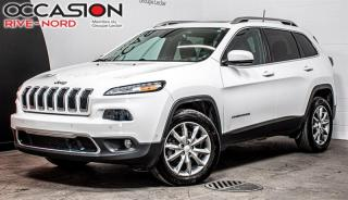 Used 2017 Jeep Cherokee Limited V6 4x4 CUIR+TOIT.PANO+SIEGES.CHAUFFANTS for sale in Boisbriand, QC