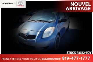 Used 2007 Toyota Yaris HATCHBACK| AUTOMATIQUE| CLIMATISATION for sale in Drummondville, QC