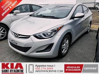 Used 2015 Hyundai Elantra L ** GR ÉLECTRIQUE for sale in St-Hyacinthe, QC