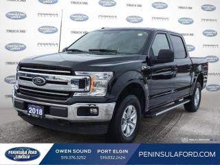 Used 2018 Ford F-150 XLT - Bluetooth -  SiriusXM - $229 B/W for sale in Port Elgin, ON